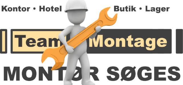 Montør/Handyman søges