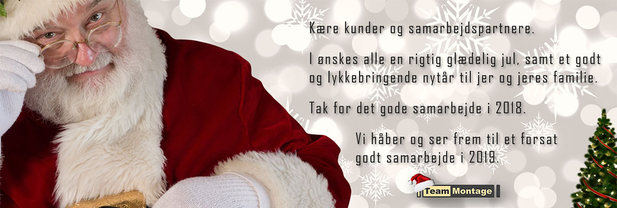Glædelig Jul og Godt Nytår 2018/2019
